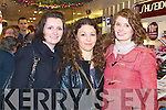 CH CHEMIST: Enjoying the CH Chemist Customer Christmas evening on Friday l-r: Sandra Moore, Mounthawk, Marisa Hanafin, Oakpark and Ciara Walsh, Ballyroe.