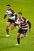 Sherwin Stowers. Counties Manukau Steelers pre season ITM Cup game against North Harbour played at Bayer Growers Stadium Pukekohe on Wednesday July 21st 2010..North Harbour won 22 - 21.