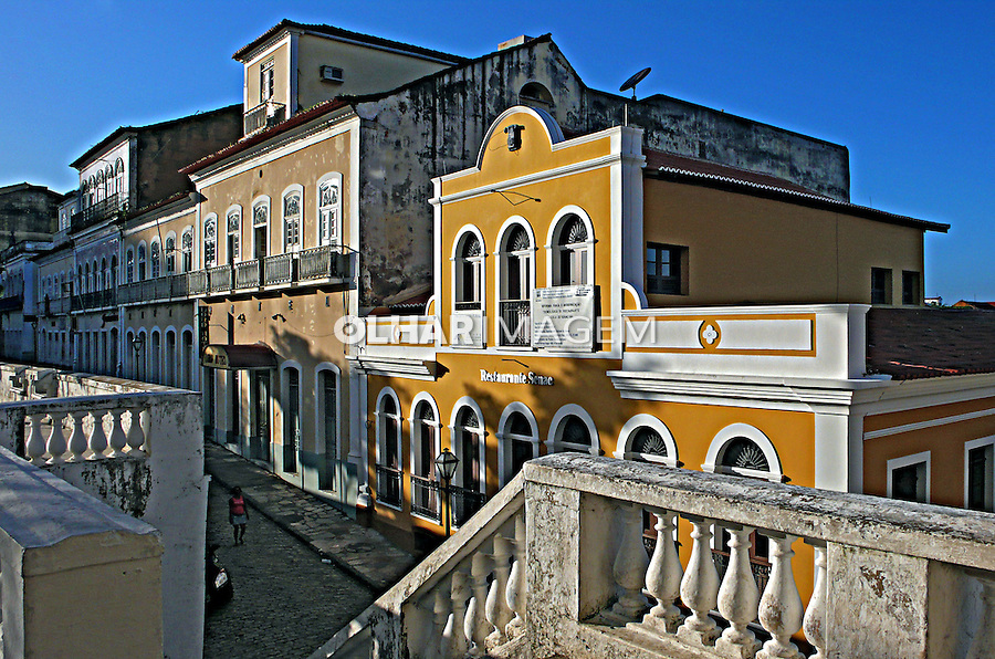 Casarões antigos, centro histórico de São Luis. Maranhao.2007. Foto de Rogério Reis.