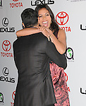 Rosario Dawson and Wilmer Valderrama at The 2010 Environmental Media Association Awards held at WB Studios in Burbank, California on October 16,2010                                                                   Copyright 2010  © Hollywood Press Agency