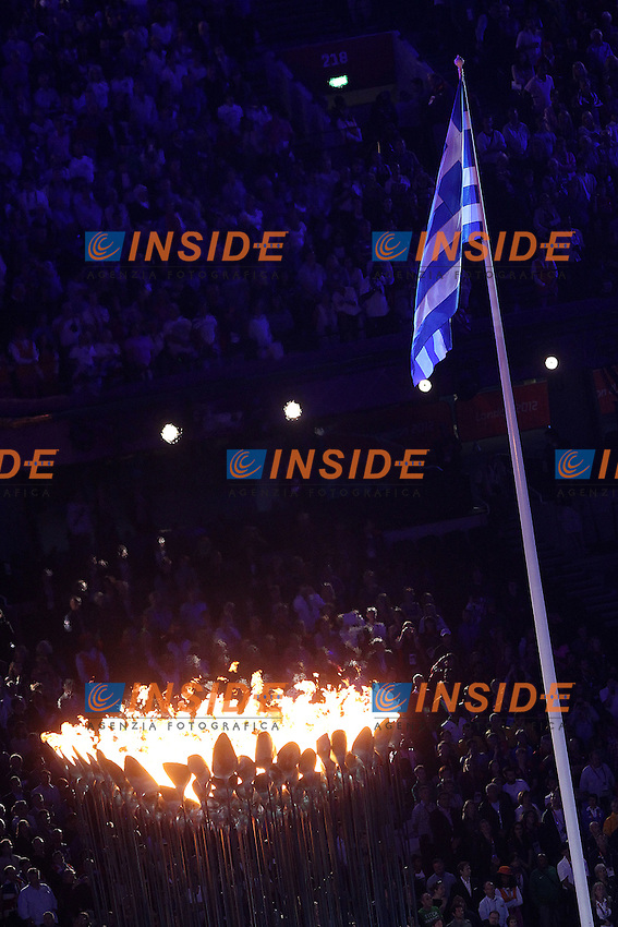 Londra 12/08/2012 Olympic Stadium.London 2012 Olympic Games Closing Ceremony.Olimpiadi Londra 2012 Cerimonia d chiusura.Foto Insidefoto Paolo Nucci.