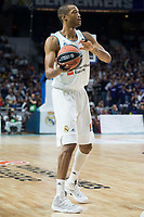 Real Madrid Anthony Randolph during Turkish Airlines Euroleague match between Real Madrid and CSKA Moscu at Wizink Center in Madrid, Spain. October 19, 2017. (ALTERPHOTOS/Borja B.Hojas) /NortePhoto.com