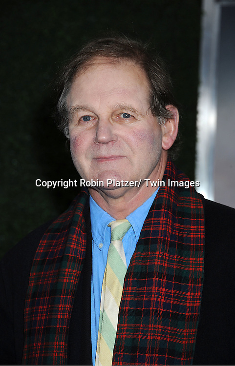 "author of the book, Michael Morpurgo attends the world premiere of ""War Horse"" on December 4, 2011 at Avery Fisher Hall in New York City."