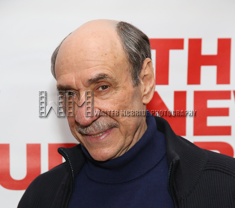 "F. Murray Abraham attends The New Group presents the New York Premiere Opening Night of David Rabe's for ""Good for Otto"" on March 8, 2018 at the Green Fig Urban Eatery,  in New York City."