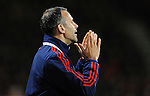 Manchester United Assistant Manager Ryan Giggs issues instructions<br /> - Barclays Premier League - Bournemouth vs Manchester United - Vitality Stadium - Bournemouth - England - 12th December 2015 - Pic Robin Parker/Sportimage