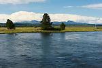 Henry's Fork of the Snake River at the Osborn Bridge near Harriman State Park, Idaho