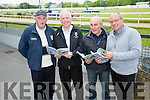 l-r  Joe Wallace, Johnny Brosnan, John Fleming and Paddy White enjoying the Kerry GAA Night of Champions at the Kingdom Greyhound Stadium on Friday