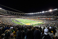 View of the McLean Stadium during an NCAA football game, Saturday, December 06, 2014 in Waco, Tex. Baylor defeated Kansas State 38-27. (Jeff Everton/TFV Media via AP Images)