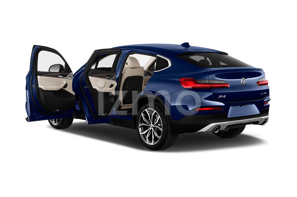 Car images close up view of a 2020 BMW X4 xDrive30i 5 Door SUV doors