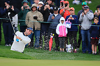 Bubba Watson (USA) on the 2nd green during the final round of the Waste Management Phoenix Open, TPC Scottsdale, Scottsdale, Arisona, USA. 03/02/2019.<br /> Picture Fran Caffrey / Golffile.ie<br /> <br /> All photo usage must carry mandatory copyright credit (&copy; Golffile | Fran Caffrey)