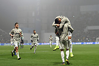 Emre Can of Juventus celebrates with Cristiano Ronaldo after scoring the goal of 0-3 <br /> Reggio Emilia 10-2-2019 Stadio Mapei, Football Serie A 2018/2019 Sassuolo - Juventus<br /> Foto Andrea Staccioli / Insidefoto