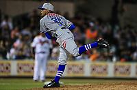 Samuel Zazueta pitcher relevo de Yaquis, durante la apertura de la temporada de beisbol de la Liga Mexicana del Pacifico 2017 2018 con el partido entre Naranjeros vs Yaquis. 11 octubre2017 . <br /> (Foto: Luis Gutierrez /NortePhoto.com)
