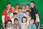 Boys having fun: Partying at Asdee Community Centre on Friday afternoon at the Asdee Pre-school Summer Camp were Padraig Lynch, Conor Keane, Brendan Keane, Brendan ONeill, Donacha Griffin, Jack Keane, Emil Beauseigneur, Ciaran Dowd, Victor Flavin, Stephen Lynch, Ciaran Griffin, Hamish OCarroll and Aidan Flavin...