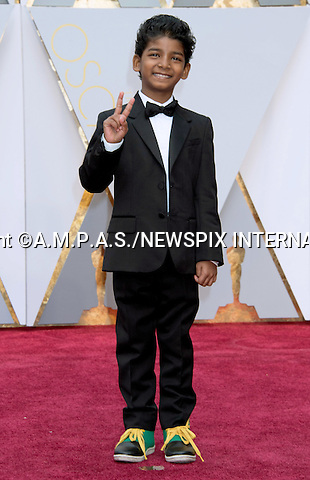 26.02.2017; Hollywood, USA: SUNNY PAWAR<br /> attends The 89th Annual Academy Awards at the Dolby&reg; Theatre in Hollywood.<br /> Mandatory Photo Credit: &copy;AMPAS/NEWSPIX INTERNATIONAL<br /> <br /> IMMEDIATE CONFIRMATION OF USAGE REQUIRED:<br /> Newspix International, 31 Chinnery Hill, Bishop's Stortford, ENGLAND CM23 3PS<br /> Tel:+441279 324672  ; Fax: +441279656877<br /> Mobile:  07775681153<br /> e-mail: info@newspixinternational.co.uk<br /> Usage Implies Acceptance of Our Terms &amp; Conditions<br /> Please refer to usage terms. All Fees Payable To Newspix International