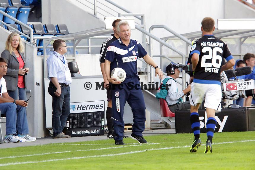 Trainer Benno Moehlmann (FSV) - FSV Frankfurt vs. VfL Bochum