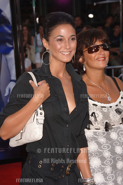 "Actress EMMANUELLE CHRIQUI (left) & sister LORI at the world premiere, in Los Angeles, of ""Miami Vice."".July 20, 2006  Los Angeles, CA.© 2006 Paul Smith / Featureflash"