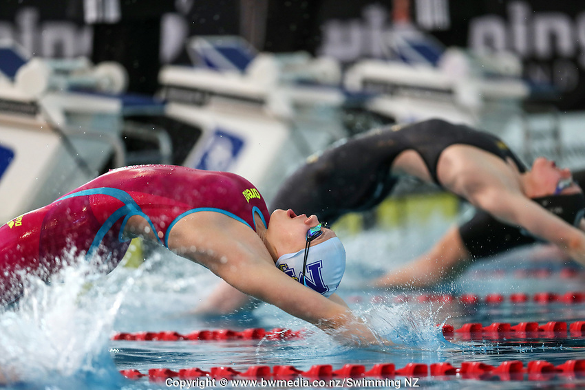 Brearna Crawford. New Zealand Short Course Swimming Championships, National Aquatic Centre, Auckland, New Zealand, Saturday 5th October 2019. Photo: Simon Watts/www.bwmedia.co.nz/SwimmingNZ