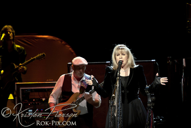 Fleetwood Mac performs at Mohegan Sun Arena in Uncasville, Connecticut April 20, 2013