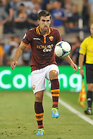 Sporting Park, Kansas City, Kansas, July 31 2013:<br /> Kevin Strootman (6) midfield AS Roma in action.<br /> MLS All-Stars were defeated 3-1 by AS Roma at Sporting Park, Kansas City, KS in the 2013 AT & T All-Star game.