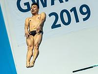 TERAUCHI Ken JPN JAPAN<br /> Gwangju South Korea 17/07/2019<br /> Diving Men's 3m Springboard Preliminary <br /> 18th FINA World Aquatics Championships<br /> Nambu University Aquatics Center <br /> Photo © Andrea Staccioli / Deepbluemedia / Insidefoto