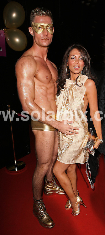ATTENDS CELEBRITY MAKE-UP ARTIST GARY COCKERILL'S BIRTHDAY PARTY, AT SIN NIGHTCLUB, CHARING CROSS ROAD, LONDON.
