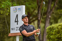 Henrik Stenson (SWE) watches his tee shot on 4 during day 4 of the WGC Dell Match Play, at the Austin Country Club, Austin, Texas, USA. 3/30/2019.<br /> Picture: Golffile | Ken Murray<br /> <br /> <br /> All photo usage must carry mandatory copyright credit (© Golffile | Ken Murray)