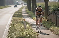 where ever you go over Belgian roads, you just might run into an Eddy Merckx (lookalike)...<br /> <br /> 12th Eneco Tour 2016 (UCI World Tour)<br /> stage 3: Blankenberge-Ardooie (182km)