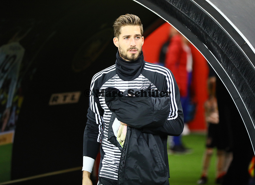 Torwart Kevin Trapp (Deutschland Germany) - 15.11.2018: Deutschland vs. Russland, Red Bull Arena Leipzig, Freundschaftsspiel DISCLAIMER: DFB regulations prohibit any use of photographs as image sequences and/or quasi-video.