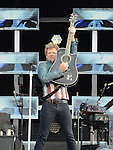 Jon Bon Jovi performing at Slane Castle. Photo:Colin Bell/pressphotos.ie