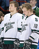 MSU ?, Justin Abdelkader - The University of Maine Black Bears defeated the Michigan State University Spartans 5-4 on Sunday, March 26, 2006, in the NCAA East Regional Final at the Pepsi Arena in Albany, New York.