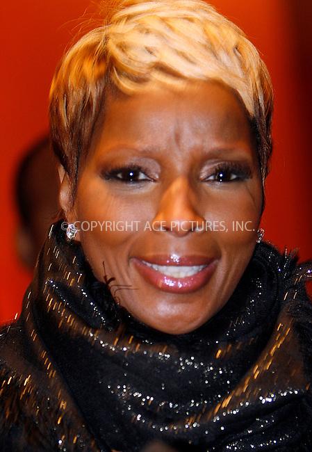 WWW.ACEPIXS.COM . . . . .  ....October 17 2009, New York City....Mary J Blige attends The Fourth Annual Black Girls Rock! at The New York Times Center on October 17, 2009 in New York City....Please byline: NANCY RIVERA- ACEPIXS.COM.... *** ***..Ace Pictures, Inc:  ..Tel: 646 769 0430..e-mail: info@acepixs.com..web: http://www.acepixs.com