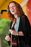Allison Moorer at the 2009 Clearwater Festival, Croton Point Park, NY 6/20/09.