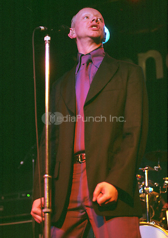 Joe Jackson Concorde 2, Brighton UK 19 September 2002, on the second night of his Volume 4 Tour.. Credit: Ian Dickson/MediaPunch
