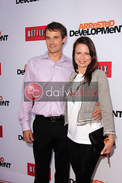 """Matthew Rolph, Mary Lynn Rajskub<br /> at the """"Arrested Development"""" Los Angeles Premiere, Chinese Theater, Hollywood, CA 04-29-13<br /> David Edwards/DailyCeleb.Com 818-249-4998"""