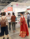 September 23, 2016, Tokyo, Japan - South Korea sets up its own booth at the 21st edition of Tokyo International Book Fair which opens at the Big Site on the Tokyos waterfront on Friday, September 23, 2016. More than one million books will be exhibited by 470 domestic and foreign publishers during the three-day show.  (Photo by Natsuki Sakai/AFLO) AYF -mis-