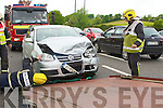 Accident on the Ballyseedy Tralee road on Saturday afternoon.......................................................................... ........