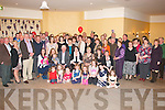 RUBY ANNIVERSARY: Billy and Joan O'Connor, Kilmoyley (seated 3rd and 4th left) celebrated their 40th wedding anniversary at the White Sands Hotel, Ballyheigue last Friday night along with many family, friends and neighbours.
