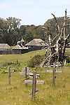 Cemetery at Fort Ross State Historic Park