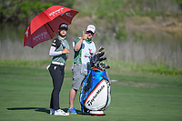 Sung Hyun Park (KOR) looks over her approach shot on 18 during round 2 of  the Volunteers of America LPGA Texas Classic, at the Old American Golf Club in The Colony, Texas, USA. 5/6/2018.<br /> Picture: Golffile | Ken Murray<br /> <br /> <br /> All photo usage must carry mandatory copyright credit (&copy; Golffile | Ken Murray)