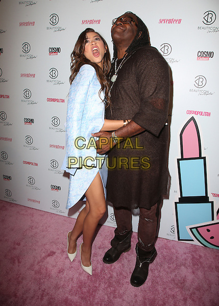 Los Angeles, CA - July 11 Zendaya, Kazembe Ajamu  Attending 4th Annual BeautyCon LA Festival At The Reef DTLA on July 11, 2015.  <br /> CAP/MPI/mpiUPA<br /> &copy;mpiUPA/MediaPunch/Capital Pictures