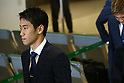 Shinji Kagawa (JPN), JUNE 27, 2014 - Football / Soccer : Japanese national soccer team are seen upon arrival back from the World Cup 2014 Brazil at Narita International Airport in Narita on Friday, June 27, 2014. (Photo by AFLO SPORT) [1205]