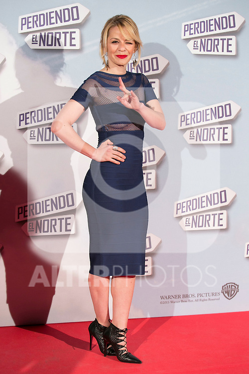 "Maria Adanez attend the ""Perdiendo El Norte"" Movie Premiere at Capitol Cinema, Madrid,  Spain. March 05, 2015.(ALTERPHOTOS/)Carlos Dafonte)"