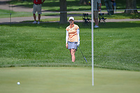 Brittany Altomare (USA) chips on to 2 during round 3 of the 2018 KPMG Women's PGA Championship, Kemper Lakes Golf Club, at Kildeer, Illinois, USA. 6/30/2018.<br /> Picture: Golffile | Ken Murray<br /> <br /> All photo usage must carry mandatory copyright credit (&copy; Golffile | Ken Murray)