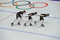 OLYMPIC GAMES: PYEONGCHANG: 19-02-2018, Gangneung Oval, Long Track, Team Pursuit Ladies, Team Germany, ©photo Martin de Jong