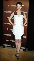 NEW YORK, NY - JANUARY 18: Valorie Curry at the world premiere of The Following at the New York Public Library in New York City. January 18, 2013. Credit:© RW/MediaPunch Inc.