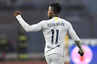 Keita Balde of Internazionale celebrates after scoring his side first goal during the Serie A 2018/2019 football match between Empoli and Internazionale at stadio Castellani, Empoli, December, 29, 2018 <br /> Foto Andrea Staccioli / Insidefoto