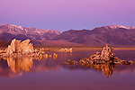 Sunrise over California's Mono Lake