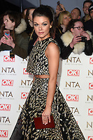 Faye Brookes<br /> at the National TV Awards 2017 held at the O2 Arena, Greenwich, London.<br /> <br /> <br /> &copy;Ash Knotek  D3221  25/01/2017