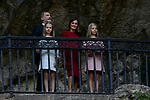 Princess Leonor of Spain, King Felipe VI of Spain, Queen Letizia of Spain and Princess Sofia of Spain visit Covadonga, Spain. September 08, 2018. (ALTERPHOTOS/A. Perez Meca)