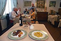 - Italian food , typical kitchen of the Emilia region, restaurant &quot;Da Ivan&quot; in Roccabianca (Parma)<br /> <br /> - Cibo italiano, cucina tipica della regione Emilia, ristorante &quot;Da Ivan&quot; di Roccabianca (Parma),